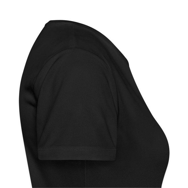 Atmungsaktives Sport-Shirt in schwarz für Frauen