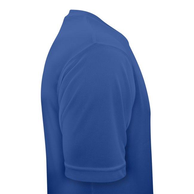 Atmungsaktives Sport-Shirt in dunkelblau für Männer