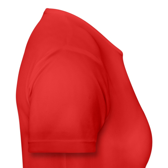 Atmungsaktives Sport-Shirt in rot für Frauen