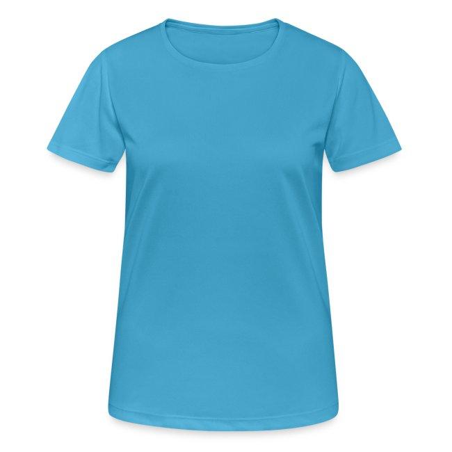 Atmungsaktives Sport-Shirt in orange für Frauen