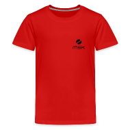 T-Shirts ~ Teenager Premium T-Shirt ~ Teenager T-Shirt mit Kämpferlogo