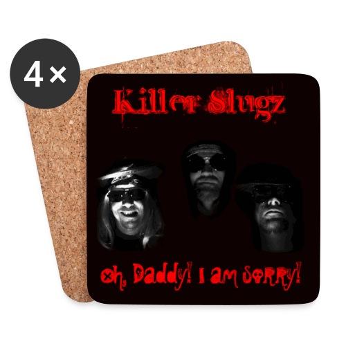 Killer Slugz Beer Coaster - Coasters (set of 4)