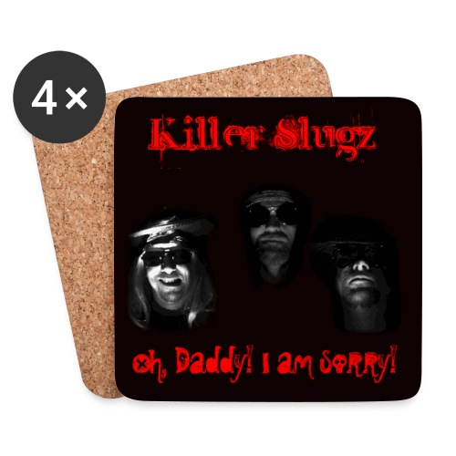 Killer Slugz Beer Coaster - Coasters (set of 4)