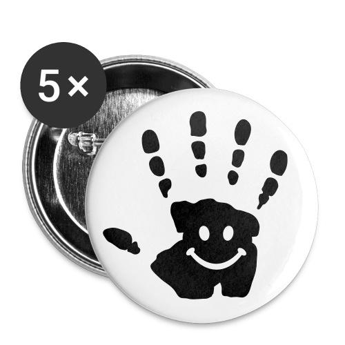 EMOT's HAND - Badge moyen 32 mm