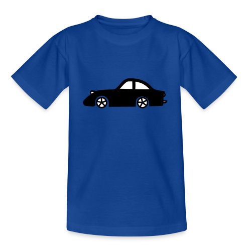 Shirt Auto Zwart - Teenager T-shirt
