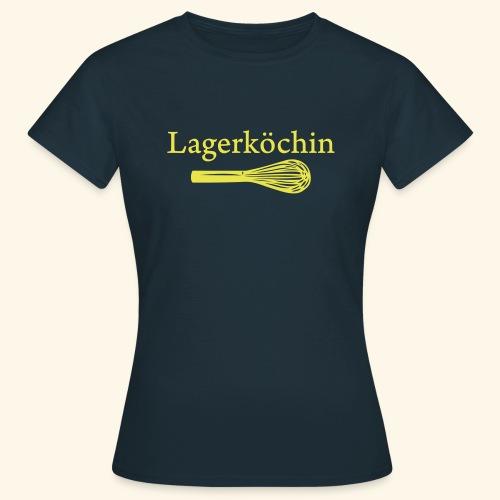 Lagerköchin, Schneebesen - Mädls - Frauen T-Shirt