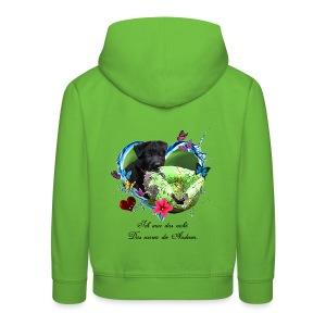 Black Puppy - Kinder Premium Hoodie