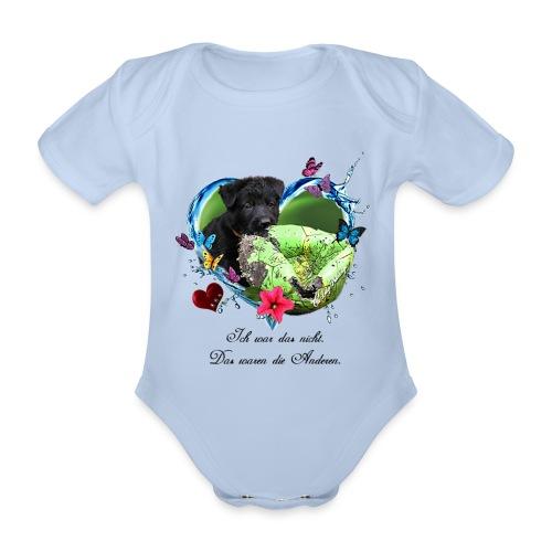 Black Puppy - Baby Bio-Kurzarm-Body