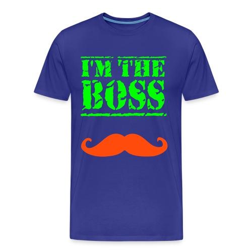 T-shirt I`M THE BOSS - Männer Premium T-Shirt