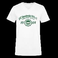 T-Shirts ~ Männer T-Shirt mit V-Ausschnitt ~ Männer 1964  - V-Shirt Weiß