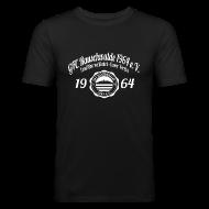 T-Shirts ~ Männer Slim Fit T-Shirt ~ Männer 1964  - Shirt SLIM Schwarz