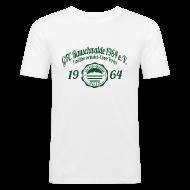 T-Shirts ~ Männer Slim Fit T-Shirt ~ Männer 1964  - Shirt SLIM Weiß