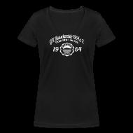 T-Shirts ~ Frauen T-Shirt mit V-Ausschnitt ~ Frauen 1964  - V-Shirt Schwarz