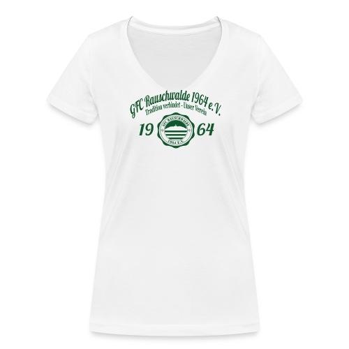 Frauen 1964  - Shirt Weiß - Frauen Bio-T-Shirt mit V-Ausschnitt von Stanley & Stella