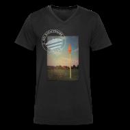 T-Shirts ~ Männer T-Shirt mit V-Ausschnitt ~ Männer Sportplatz  - V-Shirt Schwarz