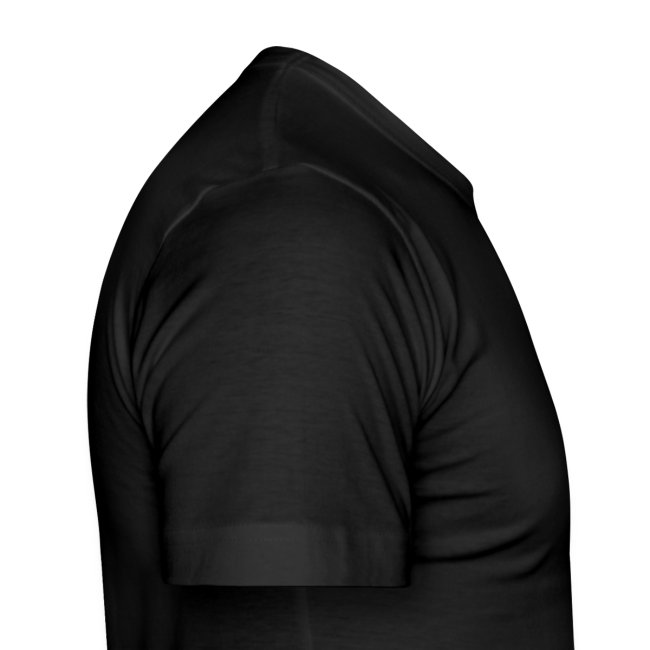 Männer Sportplatz  - Shirt SLIM Schwarz