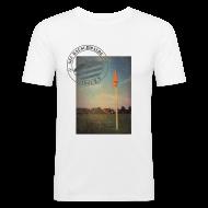 T-Shirts ~ Männer Slim Fit T-Shirt ~ Männer Sportplatz  - Shirt SLIM Weiß