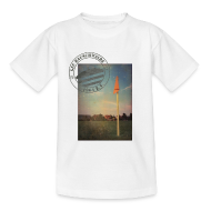 T-Shirts ~ Teenager T-Shirt ~ Teenager Sportplatz  - Shirt Weiß