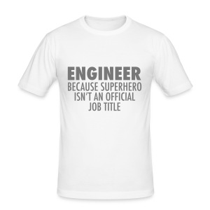 Engineer T-Shirts - Men's Slim Fit T-Shirt