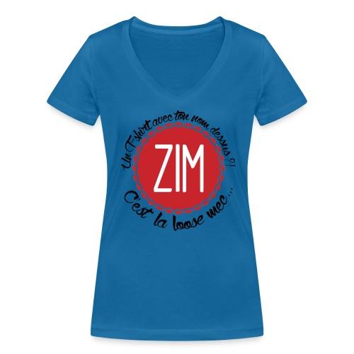 T-Shirt Col V Femme C'est la loose - T-shirt bio col V Stanley & Stella Femme