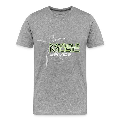 Workout Music Service - Männer Premium T-Shirt