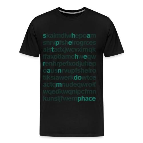 OFFICIAL SHAPE THE RANDOM SHIRT - Men's Premium T-Shirt