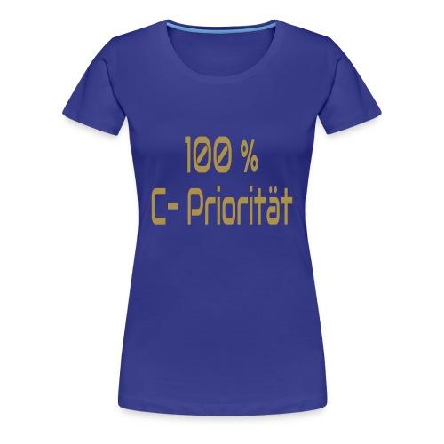 C-Priorität - Frauen Premium T-Shirt