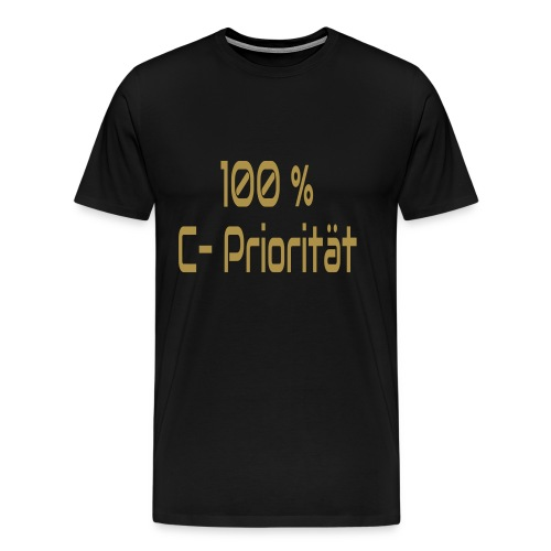 C-Priorität - Männer Premium T-Shirt