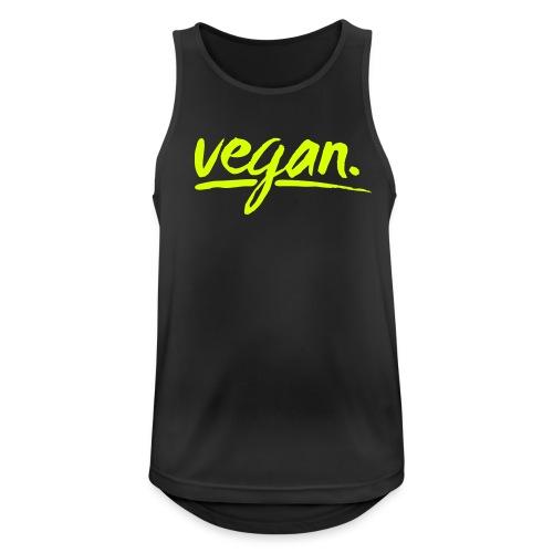 simply: vegan - Männer Tank Top atmungsaktiv