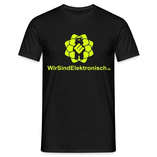 WirSindElektronisch Logo - Männer T-Shirt