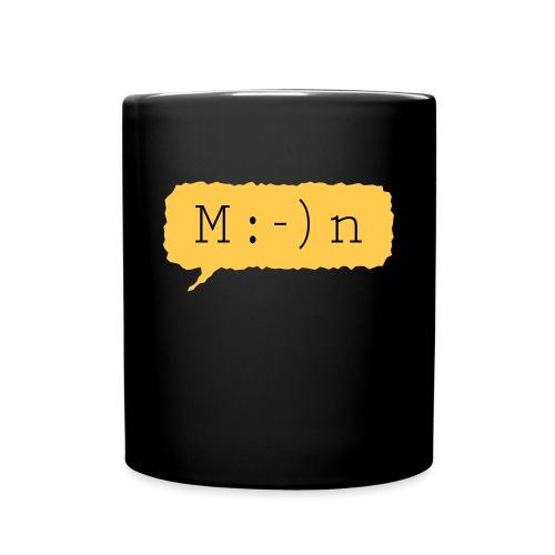 'Moin' Kaffeebecher - Tasse einfarbig