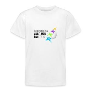 International Angelman Day Youth - Teenage T-shirt