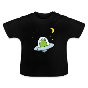 Flying Visit Alien Baby T-shirt - Baby T-Shirt
