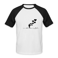 Tee shirts ~ Tee shirt baseball manches courtes Homme ~ love me tender, love me sweet