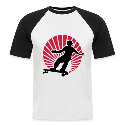 T-shirt skate - Maglia da baseball a manica corta da uomo