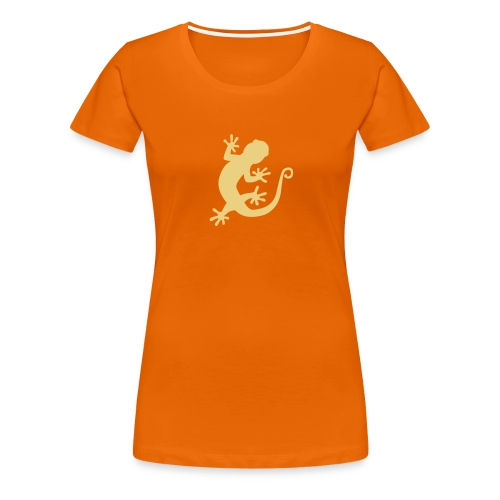 Rock Loving Gecko - Women's Premium T-Shirt