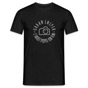 Urban Sniper - Men's T-Shirt