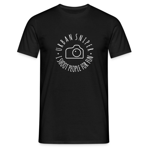 Urban Sniper - Men's T-Shirt