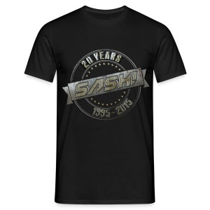SASH! T-Shirt 20 Years On Tour - Men's T-Shirt
