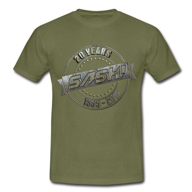 SASH! T-Shirt 20 Years On Tour