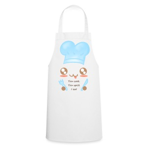Apron: You spill, I eat - Cooking Apron