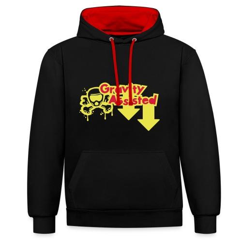 Gravity hoodie - Felpa con cappuccio bicromatica