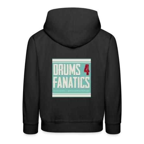 Stoere hoodie voor drummers! Kids sizes! (Kies zelf je kleur) - Kinderen trui Premium met capuchon