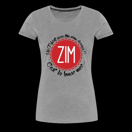 T-shirt Premium Femme C'est la loose - T-shirt Premium Femme