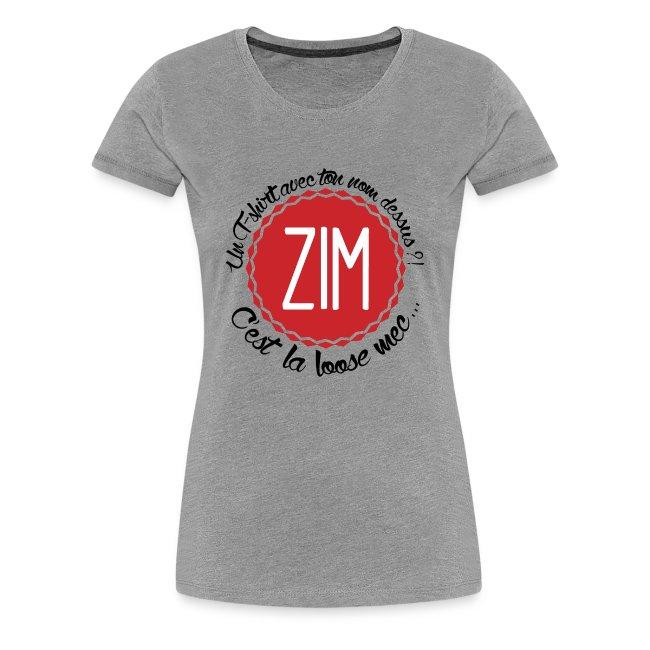 T-shirt Premium Femme C'est la loose