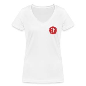 T-Shirt Femme Col V Logo - T-shirt bio col V Stanley & Stella Femme