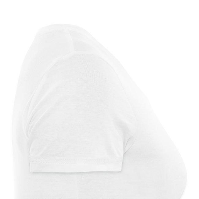 T-Shirt Femme Col V Logo