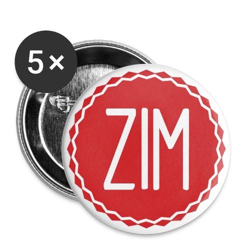 5 badges Logo - Lot de 5 petits badges (25 mm)