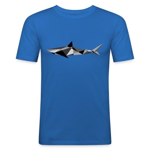 Shark - the Cubist predator - Men's Slim Fit T-Shirt