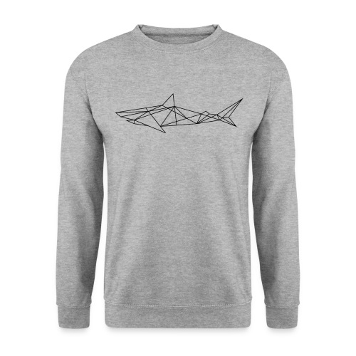Shark - the Cubist predator - Men's Sweatshirt